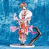Toy Statue Hatsune Miku Toy Model Collezione di Personaggi dei Cartoni Animati Regalo Fiore Colore Abito Kimono Naruko 20 CM