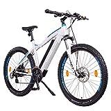 NCM Moscow Bicicleta eléctrica de montaña, 250W, Batería 48V 13Ah 624Wh (Blanco)