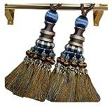 1 Paar Eleganter gardinenaufhänger/gardinenclips/vorhanghaken, NO.7(80cm)