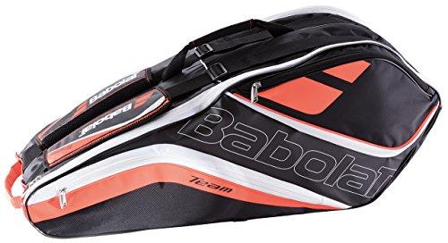 Babolat Racket Holder X 6 Team Line Schlägertasche, Rot, 68 x 40 x 20 cm -
