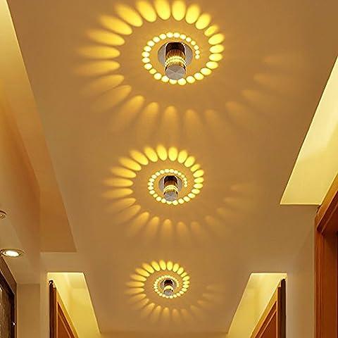 MM couloir porche lumières décoratifs ampoules LED effet lumière Creative