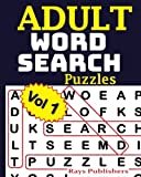 ADULT WORD SEARCH Puzzles Vol 1: Volume 1