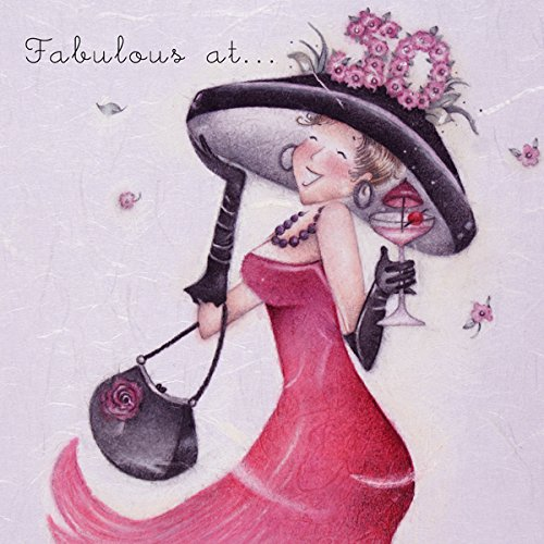 Fabulous at 50 Women's Birthday Card