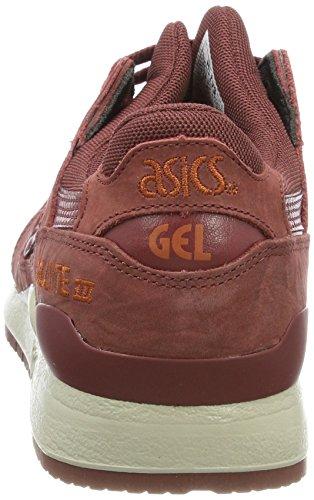 Asics Unisex-Erwachsene Gel-Lyte III Sneakers Braun (Russet Brown / Russet Brown)