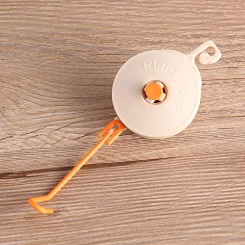 FairytaleMM 10pcs Planta Retractable Yoyo Tope Soporte
