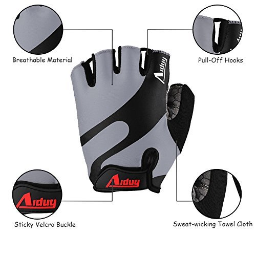Aiduy Cycling Gloves, – Weight Lifting Gloves
