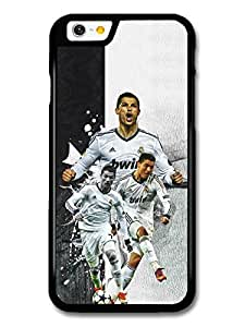Cristiano Ronaldo Collage Football Player coque pour iPhone 6