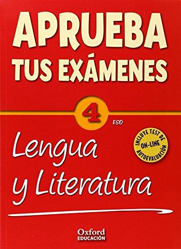 Aprueba Lengua 4.º ESO Pack. Cuaderno Test 14.º ESO por José Manuel González Bernal;M.ª Teresa Bouza Álvarez;José Luis Pérez Fuente;Alicia Romeu Rodríguez