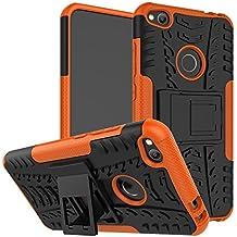 """OFU®Para Huawei P8 Lite (2017) 5.2"""" Smartphone, Híbrido caja de la armadura para el teléfono Huawei P8 Lite (2017) 5.2"""" resistente a prueba de golpes contra la lucha de viaje accesorios esenciales del teléfono-naranja"""