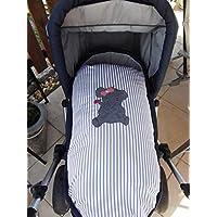 Kissenbezug für den Kinderwagen Elefant