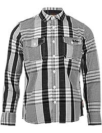 Chemise à carreaux Lee Cooper - Manches longues - Pour garçon