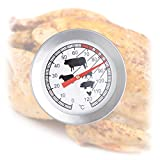Relaxdays 10022814 Braten Grillthermometer