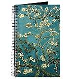 CafePress–Amandier, Vincent van Gogh.–Journal à spirales, Carnet, journal intime, DOT Grid