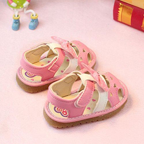 Zhuhaitf Premium Quality Outdoors Toddler Lightweight Shoes Soft-Soled Sandals Pink