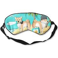 Funny Shiba Dog 99% Eyeshade Blinders Sleeping Eye Patch Eye Mask Blindfold for Travel Insomnia Meditation preisvergleich bei billige-tabletten.eu