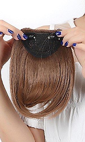 Pony-Haarteil mit Klemme, 20 cm, für Damen / Mädchen, elegant Fringe Pony