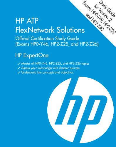 Hp Atp Flexnetwork Solutions Official Certification Study Gu (HP Expertone) por Richard Deal