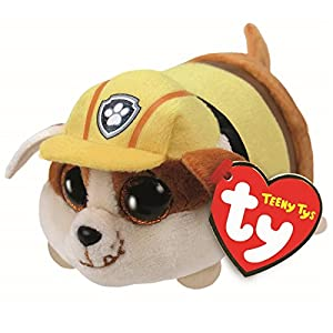TY- Teeny Tys Rubble, Patrulla Canina, 10 cm (United Labels Ibérica 42227TY)