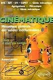 Cinématique - Problèmes corrigés et rappels de cours