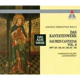 """Cantata No.153 Schau, lieber Gott, wie meine Feind BWV153 : IX Chorale - """"Drum will ich, weil ich lebe noch"""" [Choir]"""