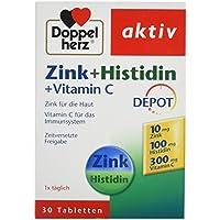 Doppelherz Zink + Histidin + Vitamin C, 30 Stück preisvergleich bei billige-tabletten.eu