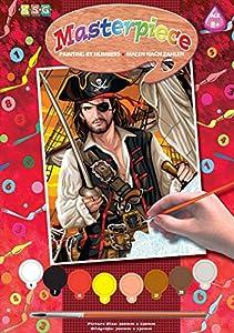 KSG - Juego de Pinturas por números Piratas del Caribe (Color-Co-1108)
