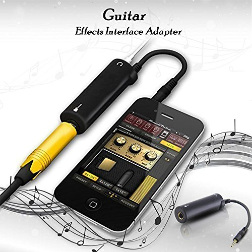 Guitar Effects Interface Adapter Converter Link for iPhone/iPod/ iPad/Ipod Touch