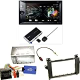 Sony XNV-KIT651 Navigation Bluetooth USB DVD MP3 Autoradio Naviceiver Touchscreen Einbauset für Mercedes Viano Vito W639
