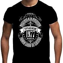 Camiseta para regalo de 40 cumpleaños para hombre Matured 1977