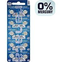 Renata Watch Battery 315 (Package of 10) by JewelrySupply preisvergleich bei billige-tabletten.eu