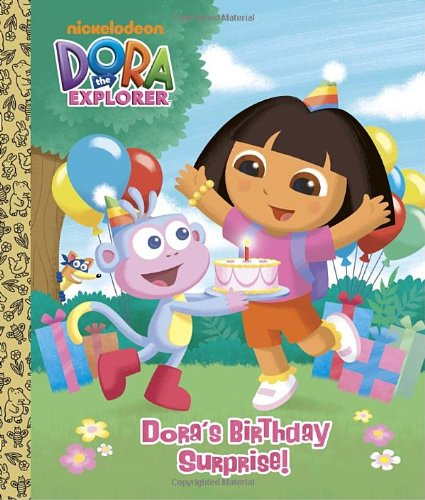 Dora's Birthday Surprise! (Dora the Explorer) (Big Golden Board Book) (Big Dora)