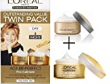 L'Oreal Age Re-Perfect Pro-Calcium Day & Night Cream - Twin Pack