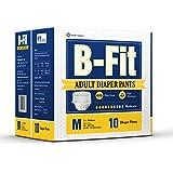 B.Fit Adult Diaper Pants Medium (10 Counts)