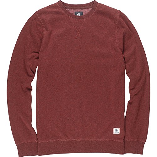 Element Cornell Overdye Crew Neck Syrah