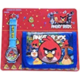 HELLO KITTY, ANGRY BIRDS, SPIDERMAN, BEN10, MINIONS WATCH AND WALLET SET