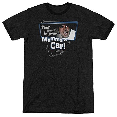 American Graffiti Herren T-Shirt Opaque schwarz schwarz Gr. L, schwarz (Graffiti American Harrison Ford)