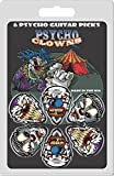 Hot Picks Psycho Clowns Lot de 6 médiators à collectionner