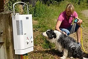 Ecco Temp CE Chauffe-eau à gaz L5pour l'extérieur pression de gaz: 50mbar