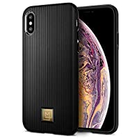 Spigen iPhone XS/iPhone X La Manon Classy cover/case - Black