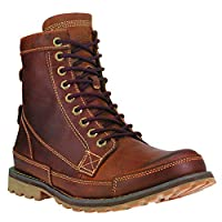 """Timberland Men's Earthkeepers 6"""" Lace-Up Boot, Burnished Brown, 10.5 W US"""