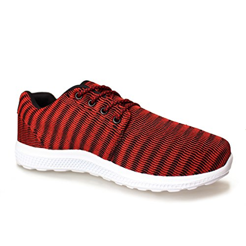 Hawkwell Chaussure de sport homme Running Entrainement homme Rouge