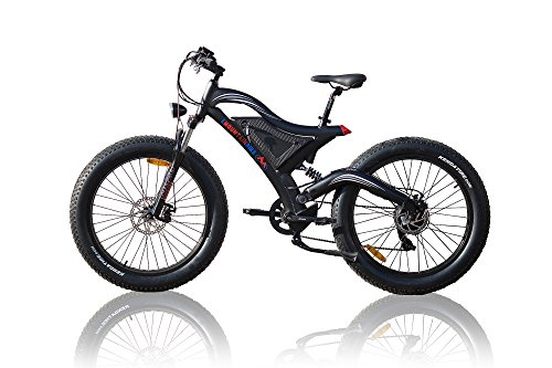 500W Bafang Hub Motor Fat Wheel eBike 26x4.0 Tire+Big Power 11,6AH Lithiun Battery + LCD Display +Fat E-Bike Elektrisches Fahrrad 26 Zoll 4.0 Fat Reife