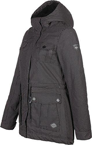 Ragwear Laika Minidots Women Jacke, Schwarz, Gr. XS - 2