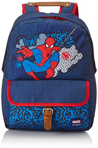 Disney by samsonite stylies zaino m marvel, poliestere, spiderman pop, 21 ml, 40 cm