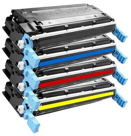 4x Eurotone Laser Toner Cartridge XXL Set remanufactured für HP Color LaserJet 3600 N DN 3600N 3600DN – kompatibel ersetzt HP Q6470A Q6471A Q6472A Q6473A - XLsatz - Black Schwarz + Cyan + Magenta + Gelb Yellow (Kompatibel Toner Q6471a Hp)