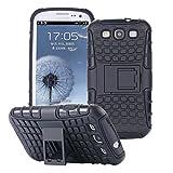 ECENCE Samsung Galaxy S3 i9300 S3 Neo i9301 Hybrid Outdoor Custodia + Vetro TEMPERATO Prottetivo Caso Cover Silicone Bumper 9H 0.33mm 2.5D Cover Placcatura 43020406