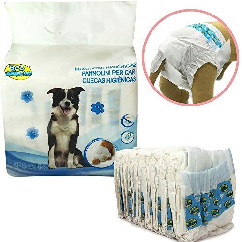 BPS 8PCS Culotte hygiénique Couche sanitaires pour...