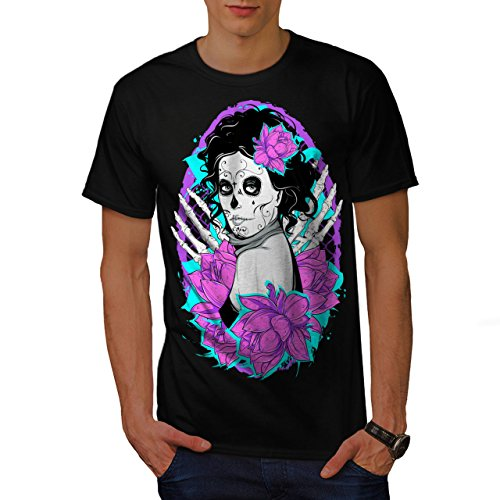 nochen Horror Herren S T-shirt | Wellcoda (Shake Dem Halloween Knochen)