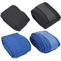 ROSENICE Hand wickelt 2,5 m Baumwolle elastische Boxhandschuhe Boxen für MMA Kickboxen Muay Thai Boxen (schwarz... preisvergleich bei billige-tabletten.eu