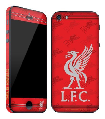 Liverpool F.C. Liverpool FC Anti-Scratch Waterproof Skin for Apple iPhone 5 , OFFICIAL LICENCED Liverpool FOOTBALL CLUB L.F.C Skin by KING OF FLASH